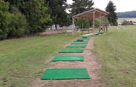 tapis de golf practice