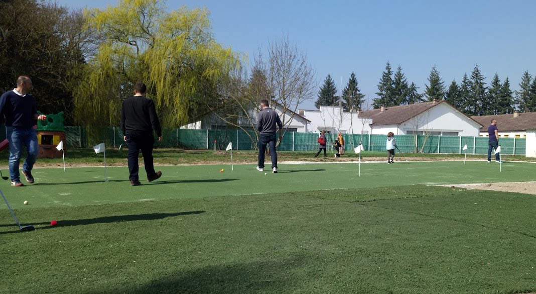 Putting green du practice des 4 arpents